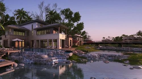 maisons contemporaines de luxe